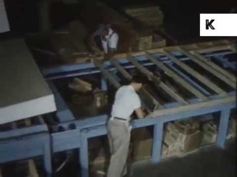 1950s USA Prefabricated House Construction, Post WWII Building