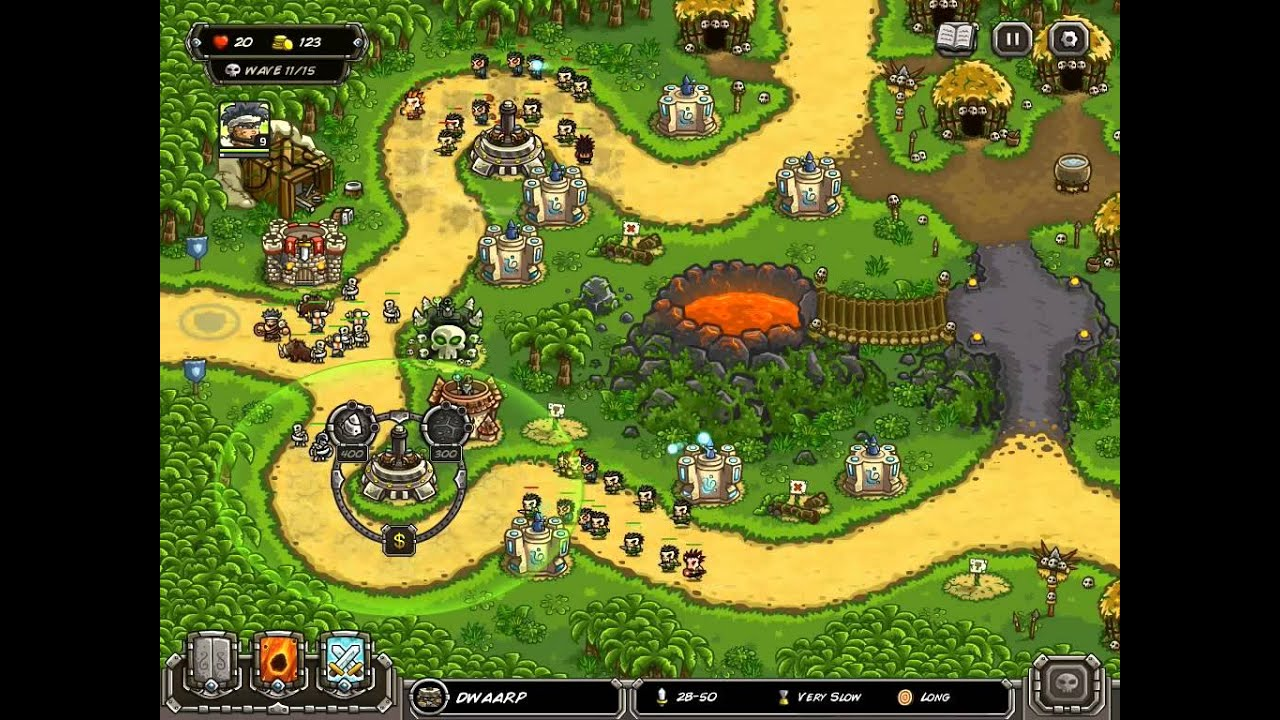 kingdom rush level 10