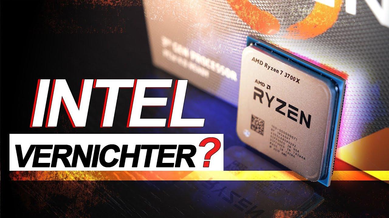 Wird Intel DAMIT VERNICHTET..?! -- AMD Ryzen 7 3700X