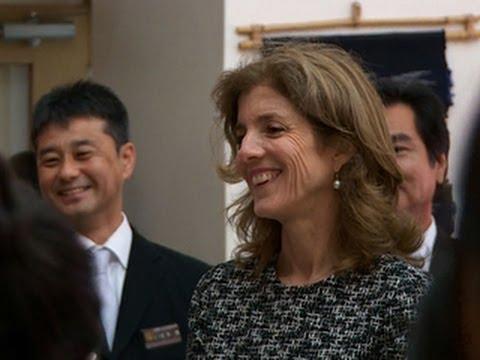 Caroline Kennedy's new life as ambassador to Japan