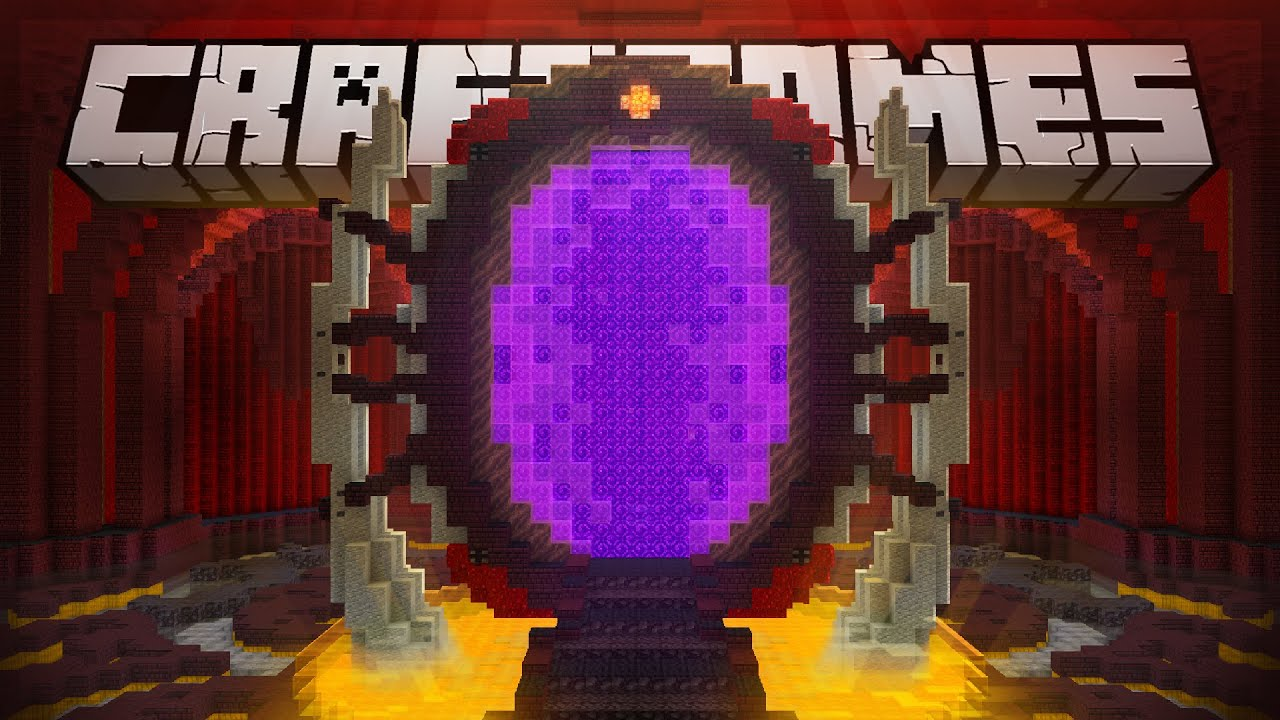 O NOVO PORTAL do NETHER! - Craft Games 247