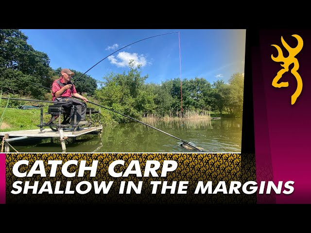 Shallow Margin Fishing for Carp : Easy Shallow Fishing 2021
