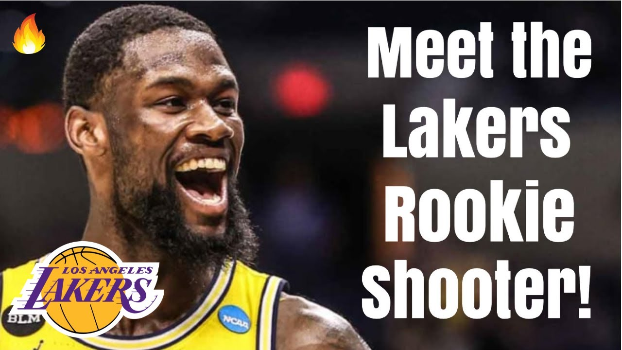 Meet the Los Angeles Lakers NEW Rookie Shooter! | 3 and D Replacement for KCP With LeBron James!
