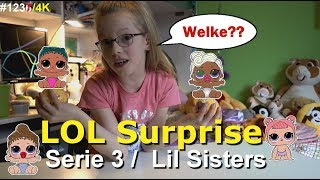 L.O.L SURPRISE Serie 3 Lil Sisters Bal. Welke Baby zit er bij mij in? ♥ Bobbi-lee.nl ♥ #1237