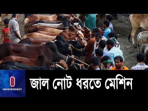 পশুর হাটে জাল নোট শনাক্তের মেশিন ব্যবহারের নির্দেশ    Bangladesh Bank