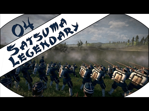 HORRENDOUSLY OUTMANNED - Satsuma (Legendary) - Total War: Shogun 2 - Fall of the Samurai - Ep.04!