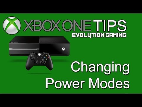 Xbox One Tips: Changing Power Modes