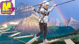 Детский экстрим Веревочный парк Активный отдых Rope Park Children Extreme Active rest(Всем привет. Мы посетили веревочный парк развлечений Сейклар (Seiklar). Активный (экстремальный) отдых для дете..., 2016-05-03T15:14:08.000Z)