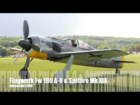 Warbirds over Hahnweide: Flugwerk Fw 190 & Spitfire Mk XIX