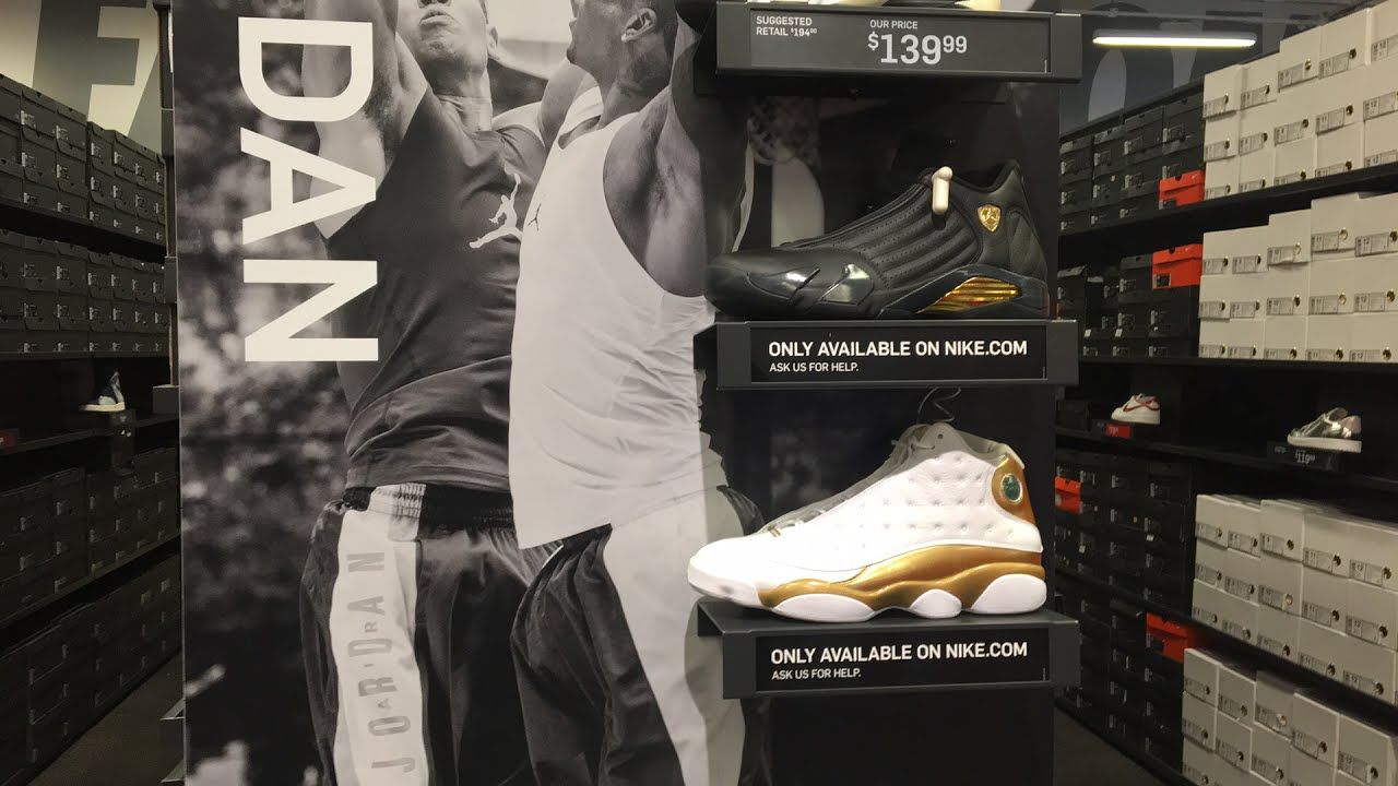 0d7e4246897 DMP pack sitting on Nike outlet 😅😅😅 - YouTube