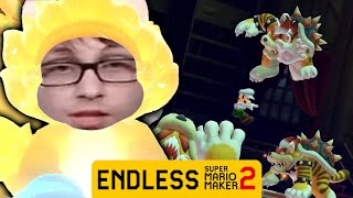 LEAKED BOWSERS FURY LEVEL - Road To 1000 Endless Super Expert Clears Part 34