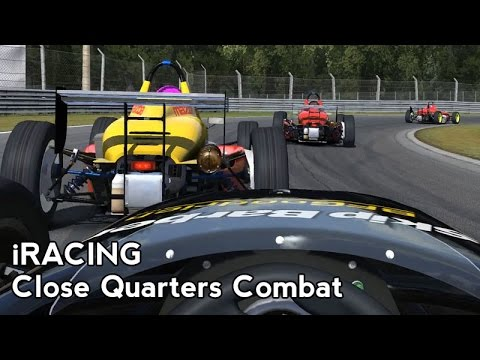 iRacing : Close Quarters Combat (Skip Barber @ Monza Junior)