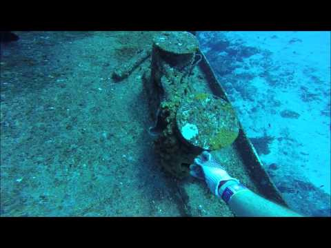 SCUBA Diving into a Shipwreck!