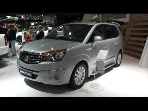 Ssangyong Rodius 2015 In Detail Review Walkaround Interior Exterior