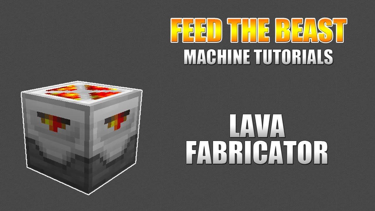 Lava Fabricator - Feed The Beast Wiki