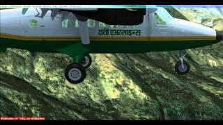 FSX - DHC6-Twin Otter in Lukla