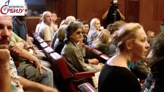 Прекинута трибина о Сребреници 4.део