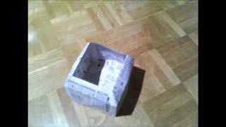 新聞紙やチラシで作るゴミ箱 thumbnail
