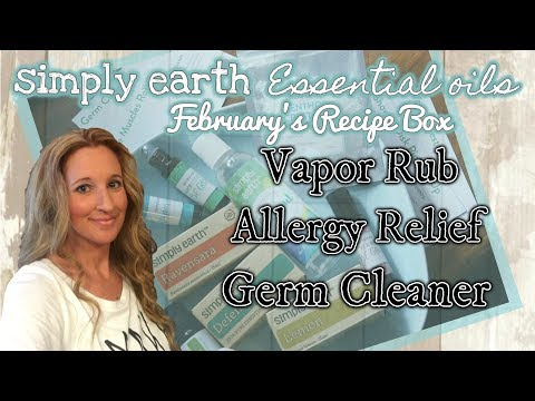 SIMPLY EARTH ESSENTIAL OILS | ALLERGY RELIEF | Natural Remedies