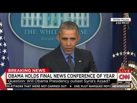 Obama on Assad and Russians hitting Syrian rebels: 'There's only so much bombing you can do'