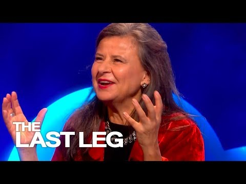 Tracey Ullman Impersonates Trump's Mother  The Last Leg