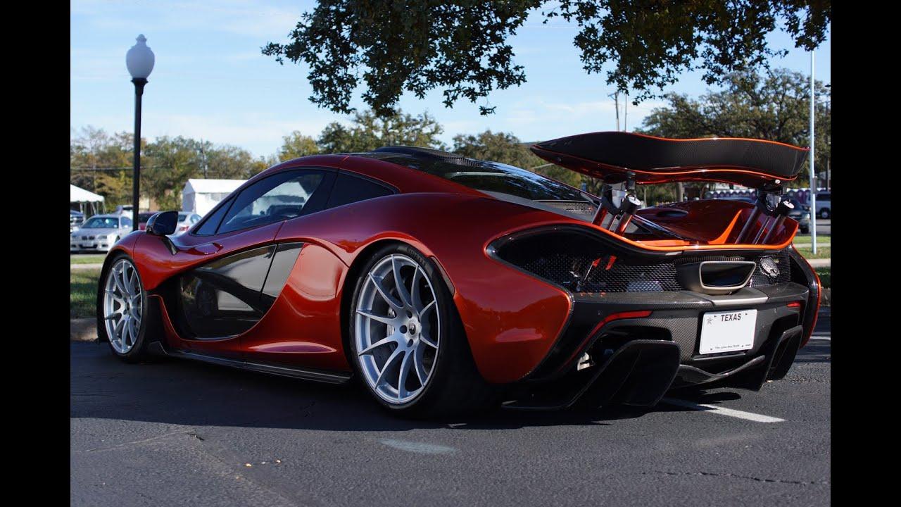 McLaren P1 Launch Control