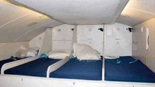 Where Does Cabin Crew Sleep In Passenger Airplane  ???
