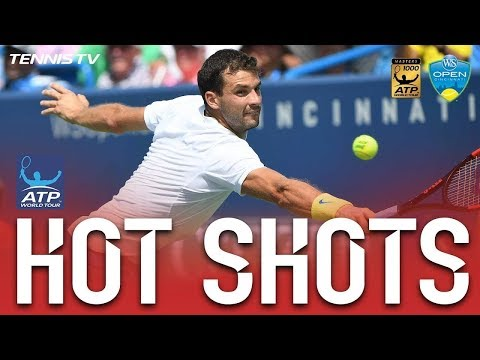 Dimitrov's Dive Volley Hot Shot Cincinnati 2017