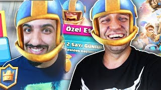 2 YE NUMBER 2 PLAYER IS NOT PLAYING WITH REFUGEE HARUN Clash Royale