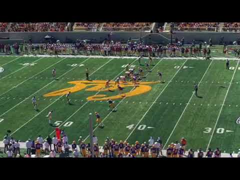 Ross Bowers Throws INT For Cal vs USC #USCvsCAL
