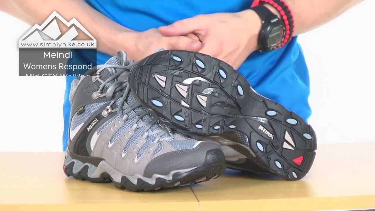 Meindl Womens Respond Mid GTX Walking Boots simplyhike.co.uk