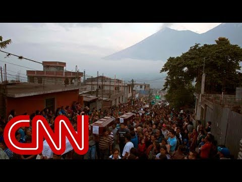 Deadly volcano swallows towns in Guatemala