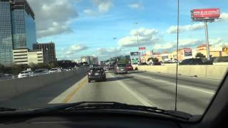 driving on west loop 610 in houston tx