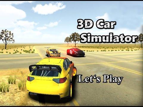 Let's Play: 3D Car Simulator (3D Driving Game)