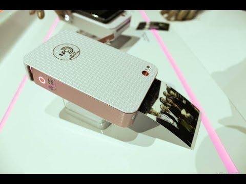 LG Pocket Photo PD233 مراجعة : تعرف على طابعة لصور بدون حبر