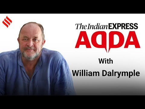 Author And Historian William Dalrymple At Express Adda | Indian Express