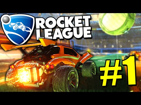 Rocket League Gameplay - 4v4 MULTIPLAYER MAYHEM | Rocket League Gameplay PC Ep. 1