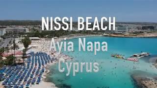 Cyprus Nissi Beach Aerial