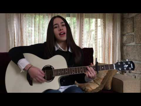 Martin Garrix & Dua Lipa- Scared To Be Lonely (acoustic cover by Maria Fernandes)