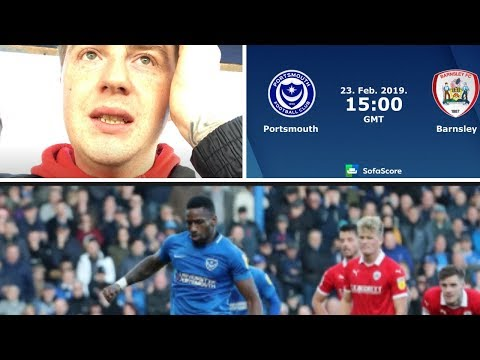 Portsmouth 0 Barnsley 0 | He Used To Be A Dee Dar But Hes Alright Now! | Matchday Vlog#41
