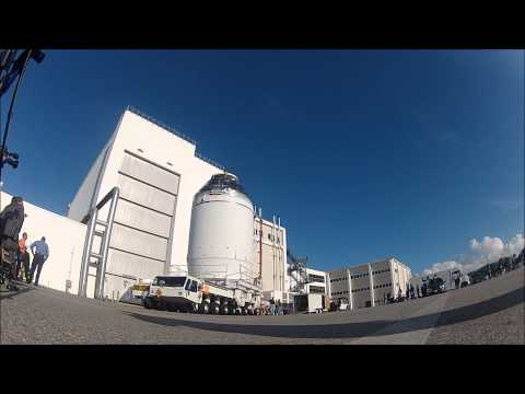 First Orion Spacecraft Rollout From KSC's O &C Building To PHSF For Fueling