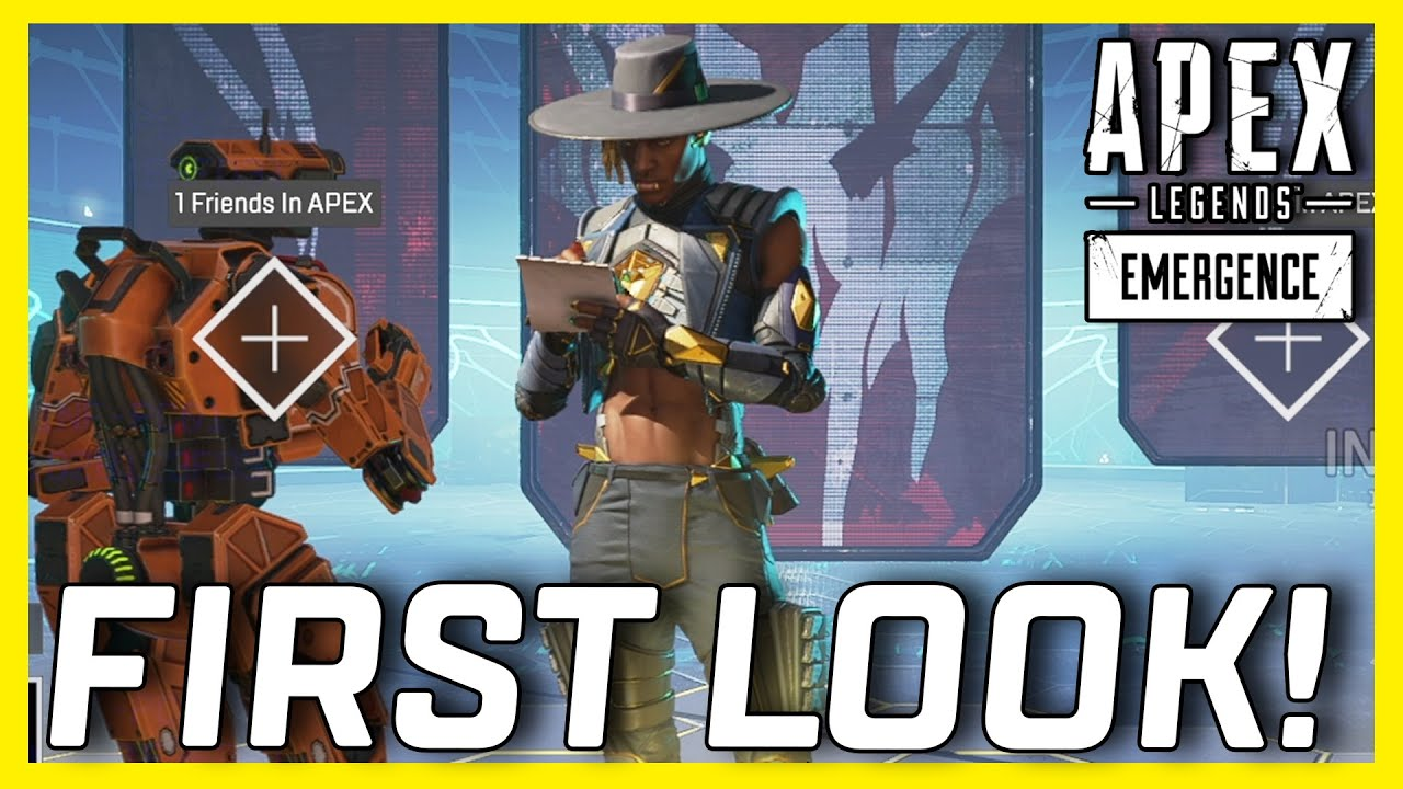 Apex Legends Season 10 Gameplay First Look At Everything! Seer, Rampage, World's Edge & More!