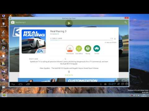 How To Download And Install Real Racing 3 On PC For Free(Windows8,7,XP).