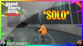 GTA Online - *SOLO* How to Store a BMX In Your Facility!