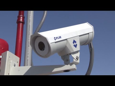 Automated Fire Suppression System Relies on FLIR Thermal Imaging Cameras