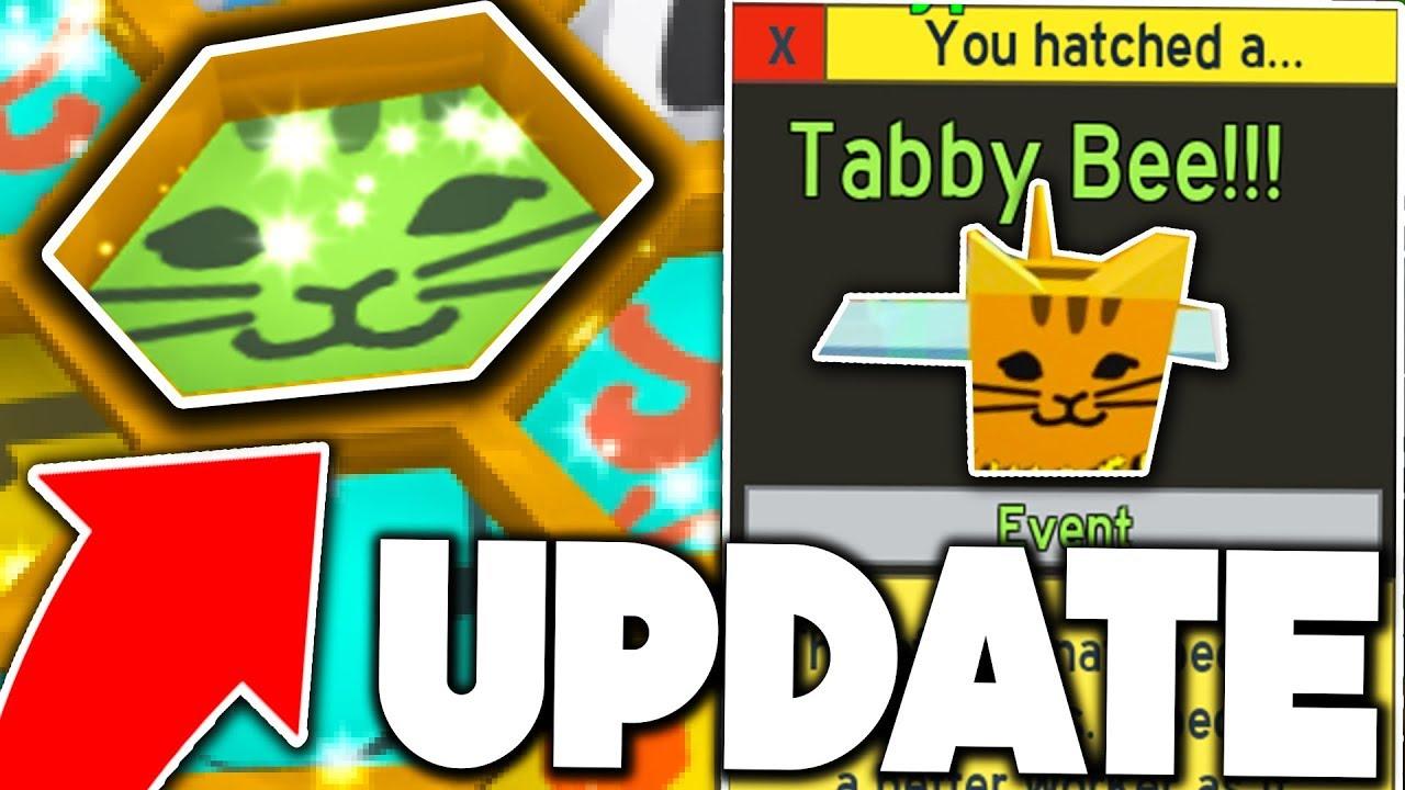Unlocking New Godly Tabby Bee Roblox Bee Swarm Simulator Update Youtube