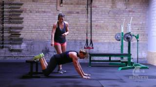 The Bigness Project Demo: Bodyweight Feet-Elevated Leg Extension