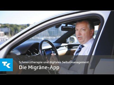 Digitalen Selbstmanagement von Kopfschmerzen | Migräne-App