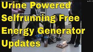Selfrunning Urine Generator Update - Free Energy Generator invented by Nigeria Schoolgirls