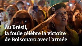Election au Brésil : la foule célèbre Jair Bolsonaro